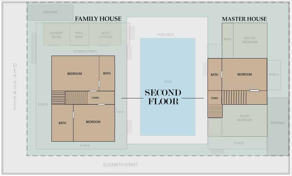 Seaport Treasure Estate 6 Bedroom Monthly Vacation Rental