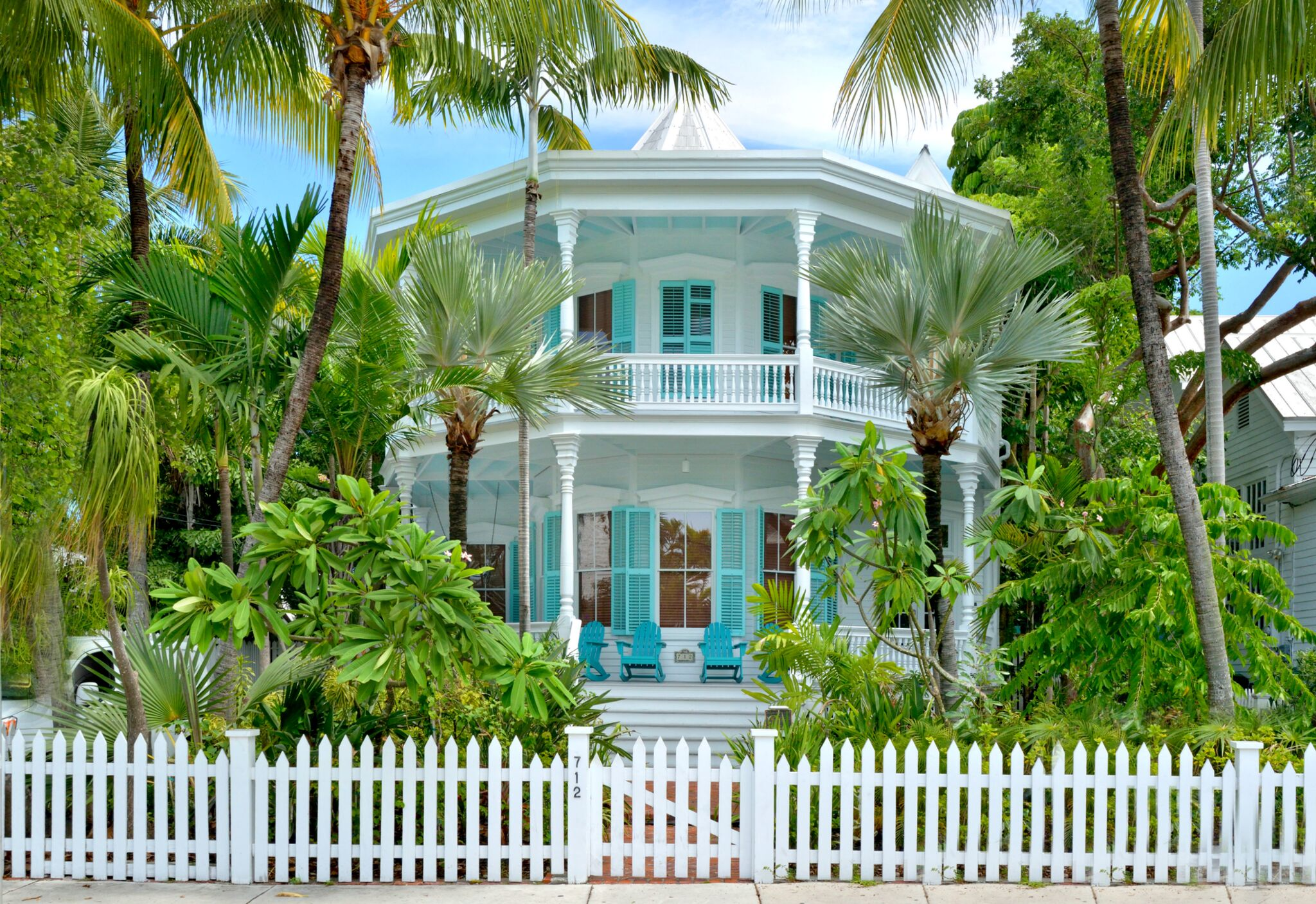 designer octagon house of key west