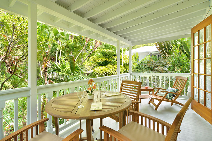 Elegant Key West Tree House 2 Bedroom Monthly Vacation