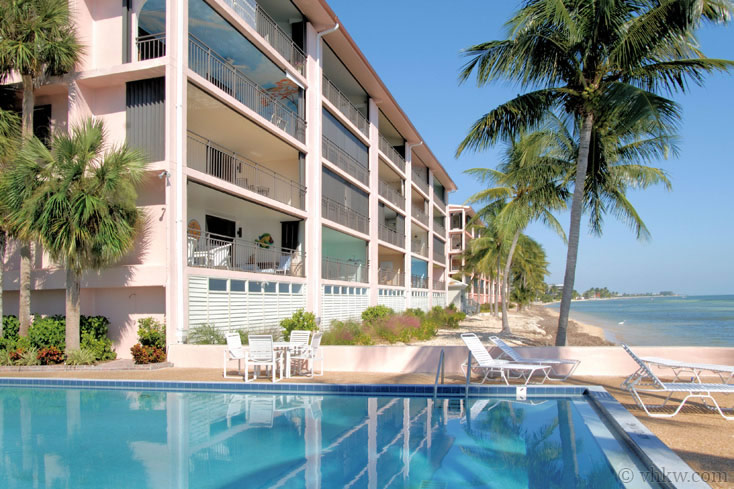 exclusive key west beach front | 2 bedroom nightly vacation rental