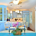Kitchen at this luxury key west vacation rental