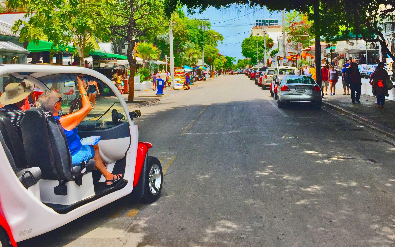 Duval Street Golf Cart Driver