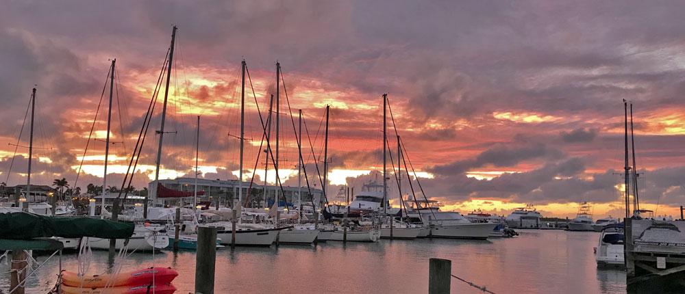 harbor view at key west FL
