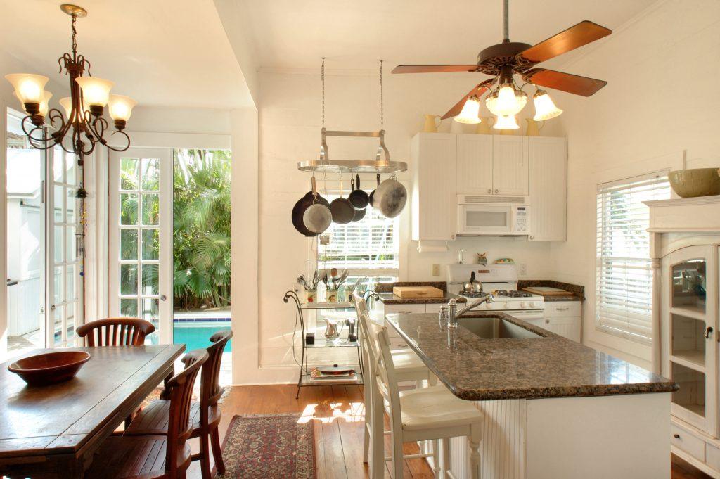 interior kitchen vacation rental
