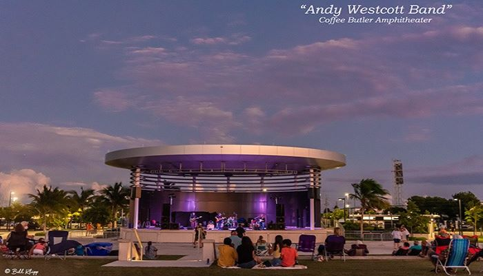 Outdoor Concerts at the Coffee Butler Amphitheater on the Key West Waterfront